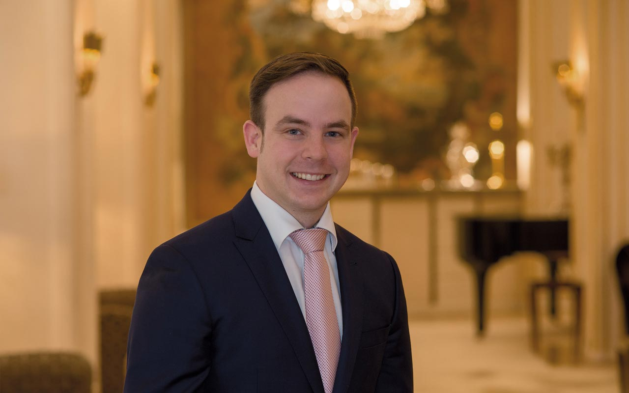 Königshof - F&B Operations Manager Sebastian Hofmann