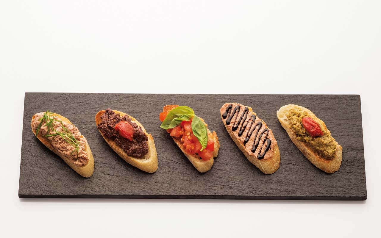 Food Vinothek - Mixed crostini