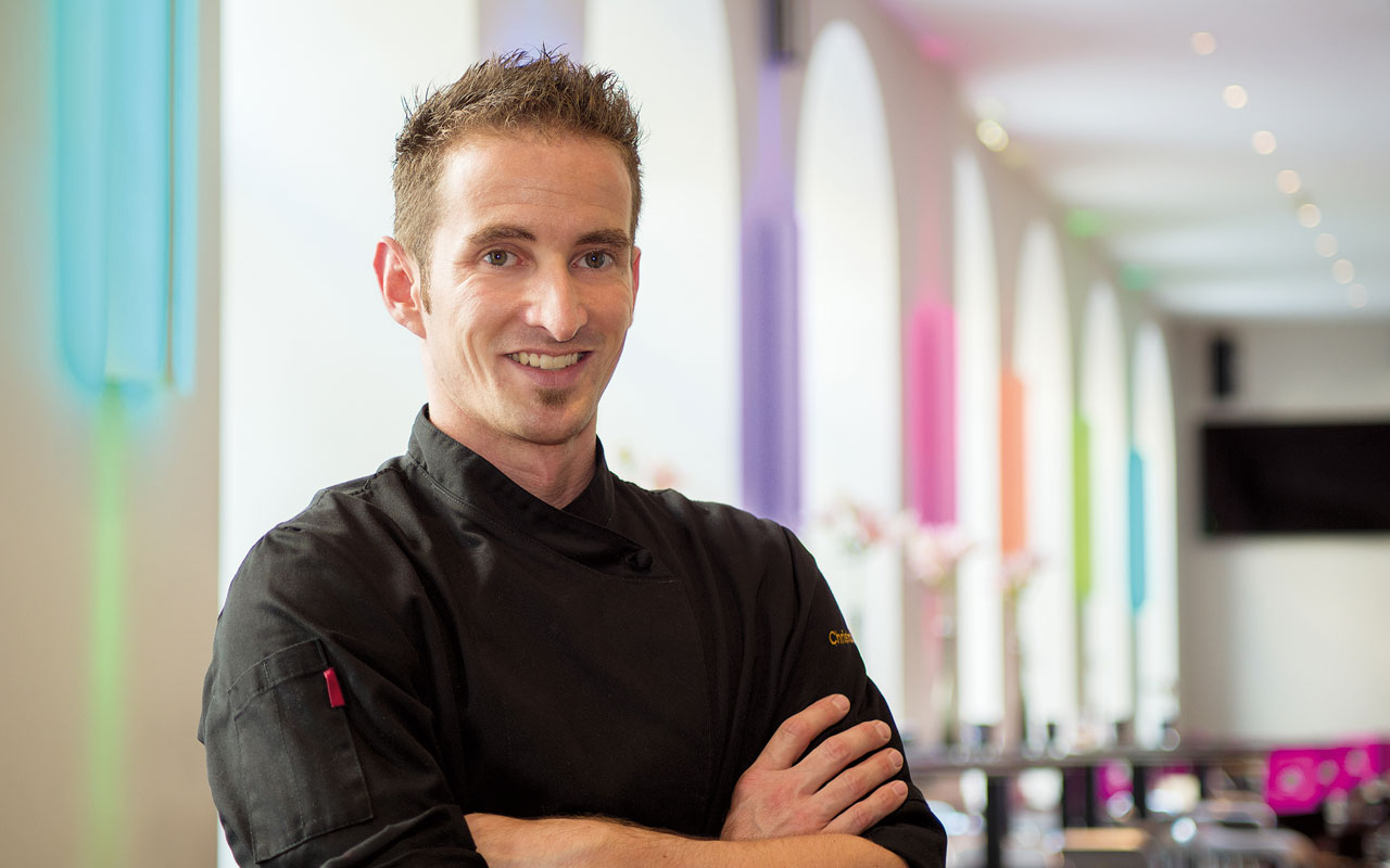 anna restaurant - Chef Christoph Lobnig