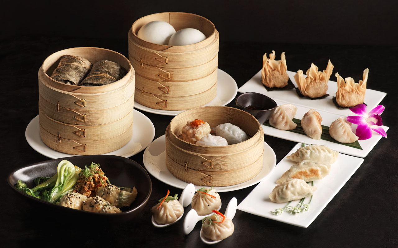 anna restaurant - DimSum selection